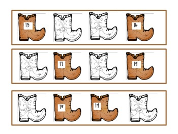Wild Wild West- A Western Approach to Literacy and Math
