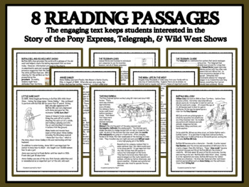 Wild, Wild West Careers: Pony Express, the Telegraph and the Wild West Show