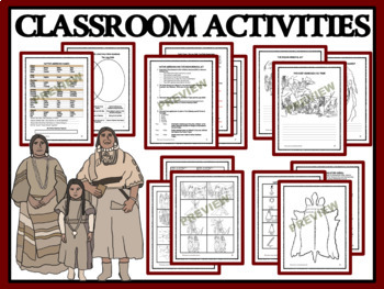 NATIVE AMERICANS: TRAIL OF TEARS, THE LONG WALK - Reading Passages & Activities
