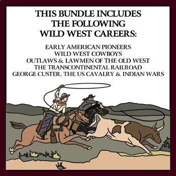 Wild, Wild West Careers: BUNDLE Volume 2