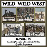 WILD WEST LIFE BUNDLE 2 - Reading Passages & Activities