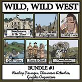 WILD WEST LIFE: BUNDLE 1 - Reading Passages, Classroom Activities, and Bingo