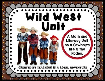 Wild West Math and Literacy Unit