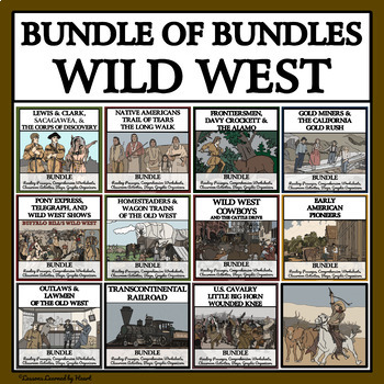 WILD WEST LIFE - Reading Passages and Comprehension, Activities and Games