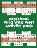 Wild Wild West Preschool Summer Packet