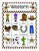 Wild Wild West Vocabulary Cards