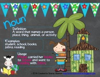 Wild Wild Words: Posters to Help With Grammar