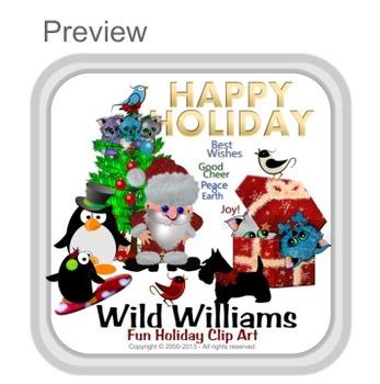 Wild Williams Holiday Stretch Art