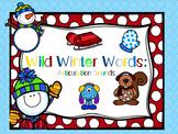 Wild Winter Words: Articulation Sounds