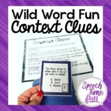 Wild Word Context Clues Card Game