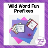 Wild Word Fun Prefixes
