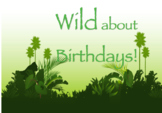Wild about Animals Birthday List