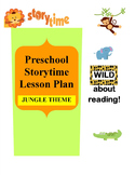 """""""Wild about Reading"""" Storytime Lesson Plan"""
