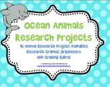Wild about Research - Ocean Animals