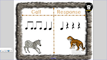 Wild about Rhythm - Note/Rest Values - SmartNotebook - elementary music