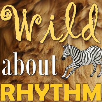 Wild about Rhythm - Elementary Music Game - Note/Rest Valu