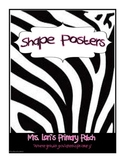 """""""Wild"""" about Shape Posters"""