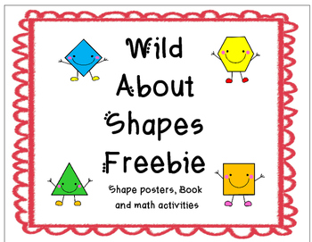Wild about Shapes: 2-Dimensional Shape Freebie 2