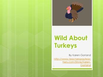 Wild about Turkeys PowerPoint