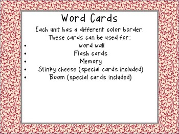 Word Work Activities for First Grade