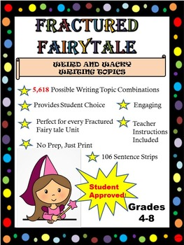 Wild and Wacky Fractured Fairy Tale Writing Topics