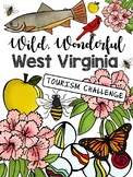 Wild and Wonderful WEST VIRGINIA Unit  (hands-on and includes editable rubrics!)
