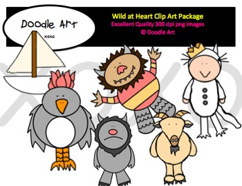 Wild at Heart Clipart Pack