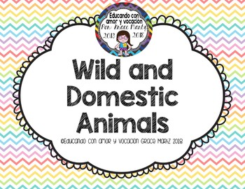 Wild or Domestic Animals
