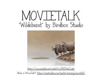 Wildebeest MovieTalk resources