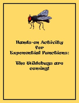Hands-on Activity for Exponential Functions - Wildebugs!