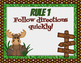 Wilderness Animal/Camping Theme Whole Brain Teaching Posters