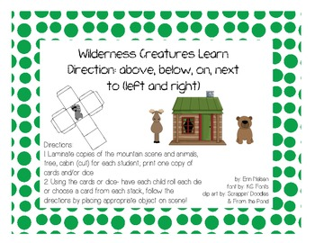 Wilderness Creatures Learn Directions