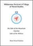 Wilderness Survival:  A Trilogy of Novel Studies (Reed Novel Studies)