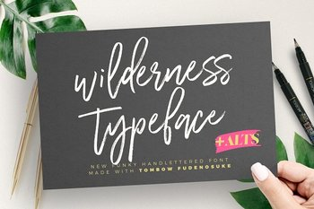 Wilderness Typeface PERSONAL USE