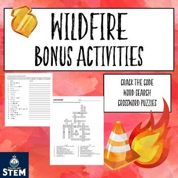 Wildfire by Rodman Philbrick- BONUS ACTIVITIES