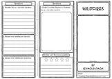 Wildfires Comprehension Foldable