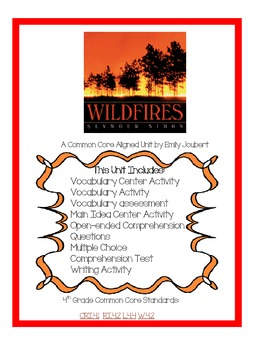 Wildfires Language Arts Unit