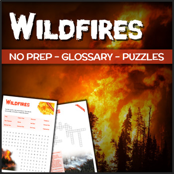 Wildfires - Puzzles & Glossary