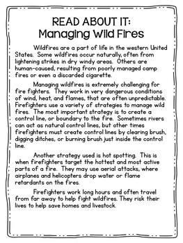 Wildfires Science Centers