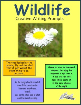 Wildlife Creative Writing Prompts