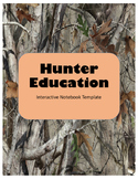 Wildlife- Hunter's Education Interactive Notebook Template