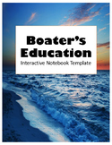 Wildlife Texas Boater's Education Interactive Notebook Template