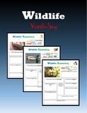 Wildlife Vocabulary