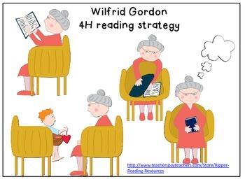 Wilfrid Gordon McDonald Partridge - 4H reading strategy