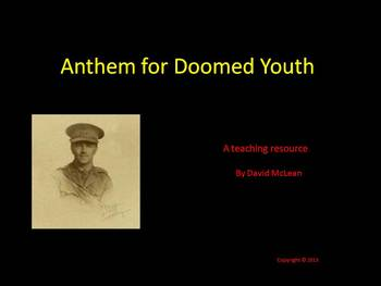 Wilfred Owen - Anthem for Doomed Youth