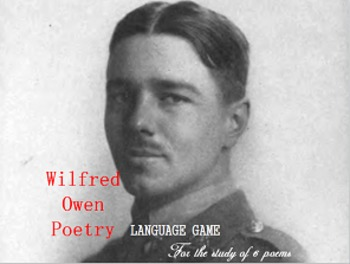 Wilfred Owen Poetry: Language Game!