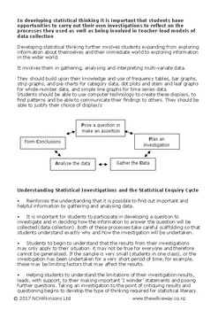 Wilkie Way Pocket Guide To Further Developing Statistical Thinking
