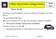 Wilkie Way Rich Learning Problems Set 4