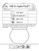 Will An Apple Float Apple Unit Apple Worksheet