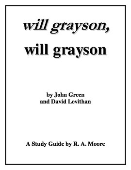 """""""Will Grayson, Will Grayson"""" by Green and Levithan: A Study Guide"""